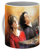 Dylan Moran And Tamsin Greig In Black Books Coffee Mug
