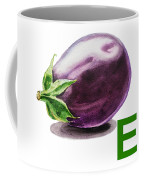 E Art Alphabet For Kids Room Coffee Mug