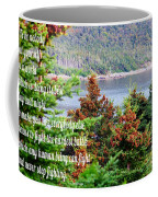 e e Cummings Quote Coffee Mug