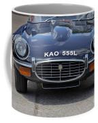 E Type Jaguar V12 Coffee Mug