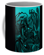 E Vincent Aquamarine Coffee Mug