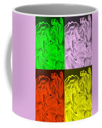 E Vincent Negative Quad Colors Coffee Mug