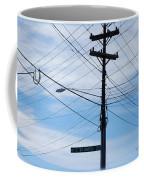 E Wt Harris Blvd - Charlotte Coffee Mug by Paulette B Wright