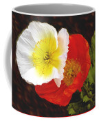 Eager Poppies Coffee Mug