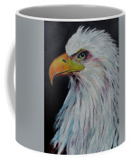 Eagle Eye Coffee Mug by Jeanne Fischer