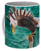 Eagle Fishing Coffee Mug