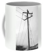 Eagle In Fog Coffee Mug