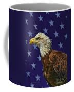 Eagle In The Starz Coffee Mug