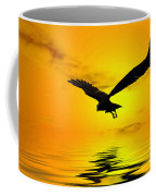 Eagle Sunset Coffee Mug