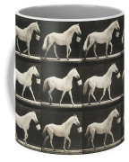 Eagle Walking With A Bucket In Mouth Coffee Mug