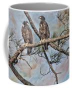 Eaglets In Oil Coffee Mug