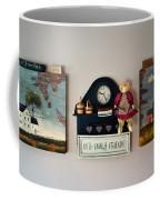 Early American Collage Coffee Mug