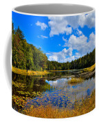 Early Autumn At Fly Pond - Old Forge New York Coffee Mug