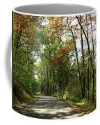 Early Autumn Drive Coffee Mug