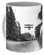 Early Biplane Flight Coffee Mug