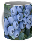 Early Blue Blueberries Coffee Mug