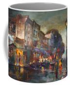 Early Evening In Main Street Nyack Coffee Mug