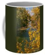 Early Fall On The Navasota Coffee Mug by Robert Frederick