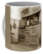 Early Kitchen With A Gas Stove 1920 Coffee Mug