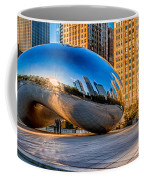 Early Morning Bean In Chicago Coffee Mug