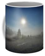 Early Morning Fog At Canaan Valley Coffee Mug by Dan Friend