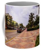 Early Morning In Miami Beach Coffee Mug