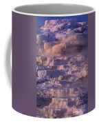 Early Morning Light On Minerva Springs Yellowstone National Park Coffee Mug