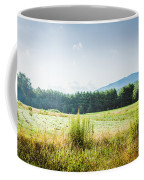 Early Morning Mist In The Valleys And Farmlands Of The Blue Ridge Mountains Coffee Mug