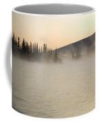 Early Morning Mist On Boya Lake Coffee Mug