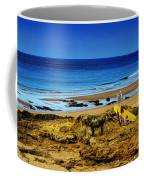 Early Morning On The Beach Coffee Mug