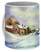 Early Morning Snow Christmas Cards Coffee Mug by Andrew Read