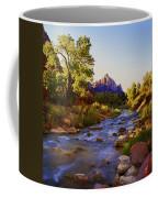 Early Morning Sunrise Zion N.p. Coffee Mug