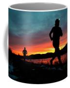 Early Morning Trail Running Coffee Mug