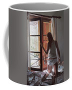 Early Morning Villa Mallorca Coffee Mug by Gillian Furlong
