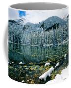 Early Snow At Nymph Lake Coffee Mug