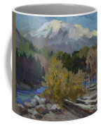 Early Snow Cascade Mountains Coffee Mug