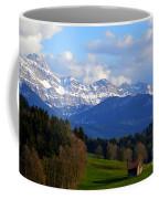 Early Snow In The Swiss Mountains Coffee Mug