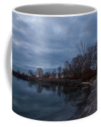 Early Still And Transparent - On The Shores Of Lake Ontario In Toronto Coffee Mug