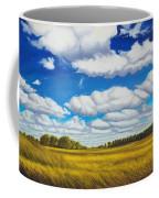 Early Summer Clouds Coffee Mug