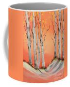 Early Winter Aspen Coffee Mug