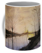 Early Winter Riverside Coffee Mug