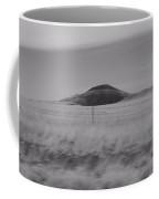Earth And Sky Black And White Coffee Mug