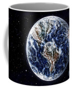 Earth Beauty Original Acrylic Painting Coffee Mug