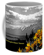 Earth Laughs In Flowers Coffee Mug by Dan Sproul