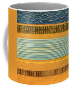Earth Layers Abstract Ll Coffee Mug