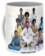 Earth Wind And Fire Autographed Photo Of Group Coffee Mug