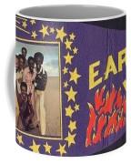 Earth Wind Fire Pennant 1970s Coffee Mug