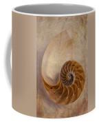 Earthy Nautilus Shell  Coffee Mug