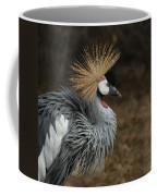 East African Crowned Crane Painterly Coffee Mug