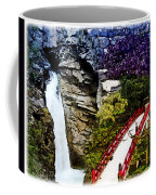 East And West Collage Coffee Mug